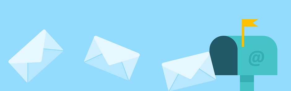 Email marketing header blog